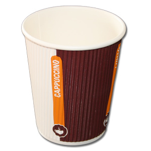 500 Doppelwand - ripple cups Coffee to go Becher, 0,2l