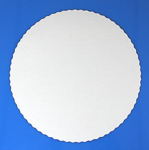 100 Stück Tortenunterlagen Pappe weiß 24cm Tortenscheiben