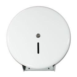 1 Jumbo-Toilettenpapierspender, weiss, 360x370x120mm